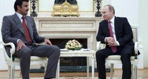 Putin ile Katar Emiri Suriye'deki son durumu görüştüler
