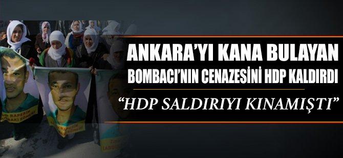 O bombacının cenazesini HDP kaldırdı!