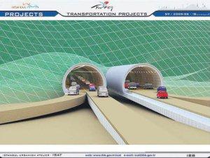660 milyon dolara mal olacak 3 yeni tünel