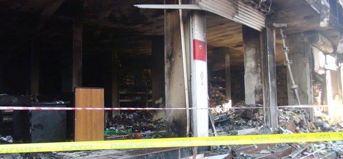 Nusaybin'de korkutan yangın