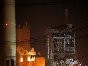 İngiltere Oxfordshire'da santral binası çöktü 1 ölü
