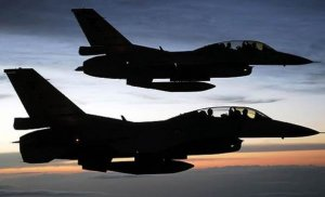 F16'lar Bomba yağdırıyor