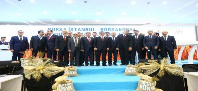 Başbakan Davutoğlu, Borsa İstanbul-Borsa Konya törenine katıldı
