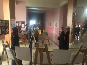 Dicle Üniversitesi öğrencilerden 'Şehid' sergisi