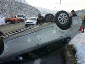Bingöl-Elazığ yolunda kazası: 5 yaralı