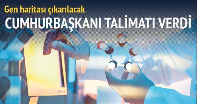 Erdoğan'ın talimatıyla kanser gen haritası çıkarılacak