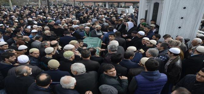 Said Özdemir Hoca Rahmeti Rahmana uğurlandı