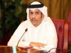 Katar Dışişleri Bakanından körfez ülkelerine tepki