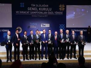 TİM İhracat Şampiyonları Ödül Töreni