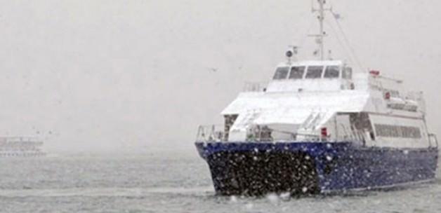 İstanbul Deniz Otobüs seferleri iptal!