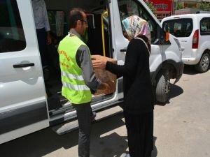 İpekyolu Belediyesinden 2 bin aileye gıda yardımı