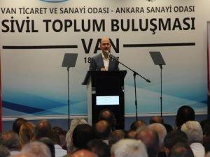 Soylu: Doğu ve Güneydoğu Türkiye'nin yeni sıçrama merkezleridir