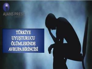 Türkiye Uyuşturucu Ölümlerinde Avrupa Birincisi