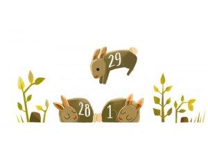 29 Şubat günü google oldu doodle?