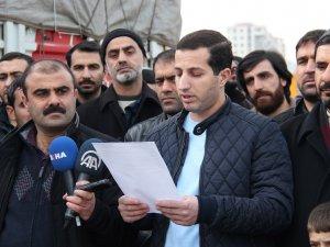 Diyarbakır'dan Suriye'ye 3 TIR un