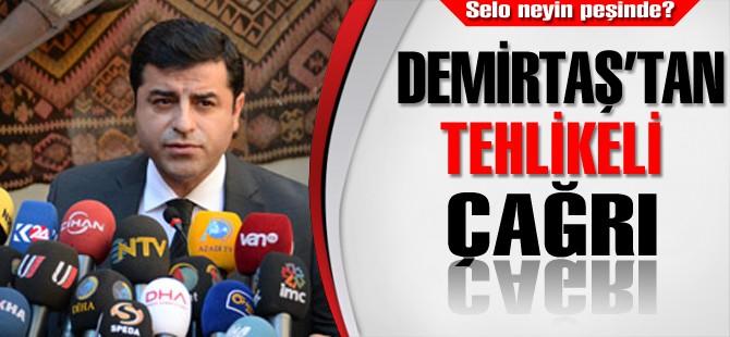 """Demirtaş: Diyarbakırlılara """"Sokağa Çıkın"""" dedi"""