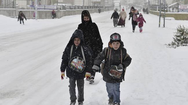 18 Ocak Pazartesi günü hangi illerde okullar tatil edildi?