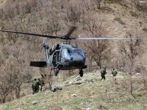 Ağrı'da 8 PKK'lı öldürüldü