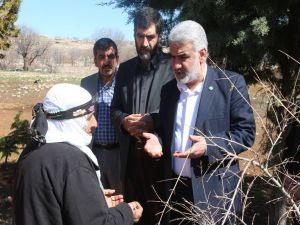 HÜDA PAR Genel Başkanı Yapıcıoğlu'ndan taziye ziyaretleri