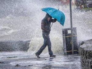 Meteorolojiden doğu illeri için sağanak uyarısı