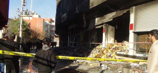 Tekstil deposundaki yangının çıkış sebebi belirlendi