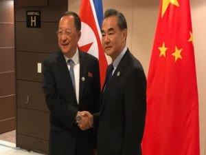 Çin Dışişleri Bakanı Wang Yi, Kuzey Koreli mevkidaşı ile görüştü