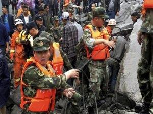 Çin'de 7 büyüklüğünde deprem!
