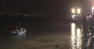 Otomobil denize düştü: 1 ölü