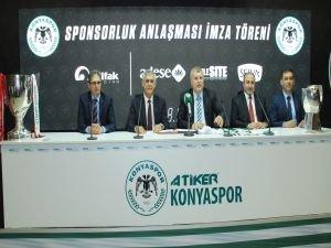 İttifak Holding, Atiker Konyaspor'a sponsor oldu