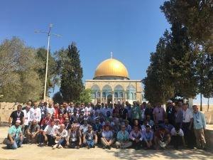MÜSİAD Heyeti Mescid-i Aksa'da Cuma Namazı Sonrası Çağrı Yaptı