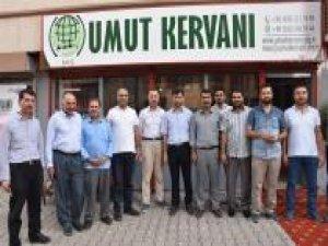 Muş'ta Umut Kervanı Yardım Vakfı'nın açılışı yapıldı