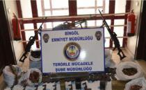 Bingöl'de IŞİD operasyonunda mühimmat ele geçirildi