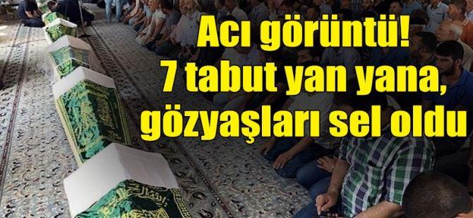 7 tarım işçisi Mardin'de defnedildi