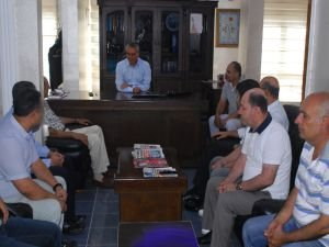 Vali Ahmet Deniz'den BM-GYC'ye ziyaret!