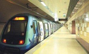 Metroda tehlikeli anlar