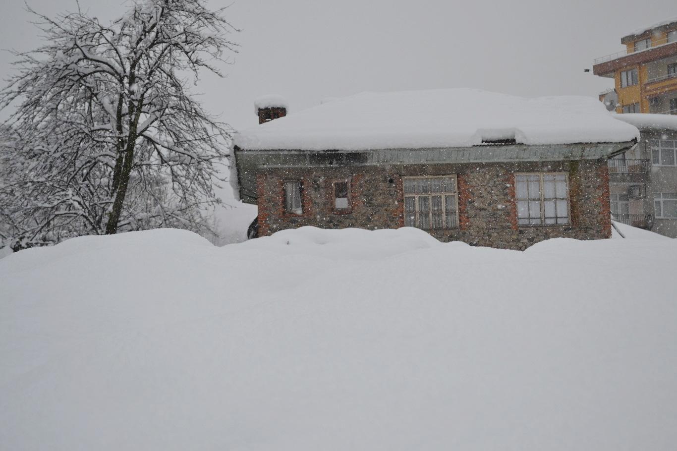 Karlıova'da kar yağışı hayatı olumsuz etkiledi