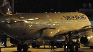THY'ye ait 3 uçağa yıldırım çarptı