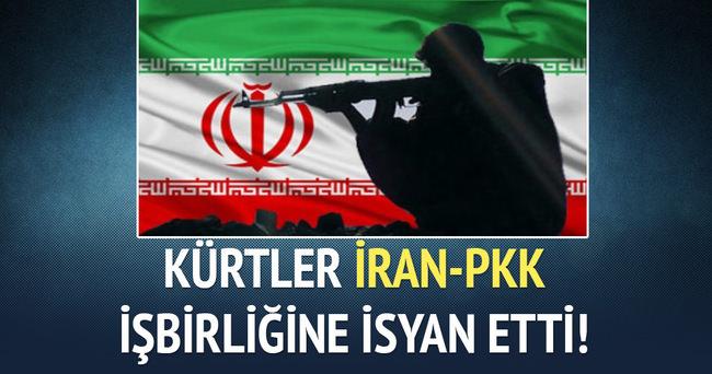 Kürtler İRAN-PKK işbirliğine isyan etti