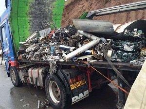 TIR'da 35 kilo esrar uyuşturucu madde ele geçirildi