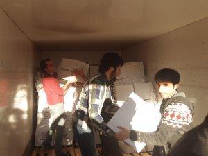 Mardin'de fakir ailelere gıda yardımı