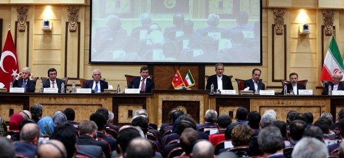 Davutoğlu, Türkiye-İran İş Formu'nda konuştu