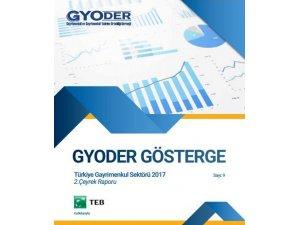 'GYODER Gösterge' Türkiye Gayrimenkul Sektörü 2018-3. Çeyrek Raporu yayınlandı