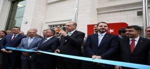 Erdoğan, Samiha Ayverdi Anadolu Lisesi'nin açılış törenine katıldı
