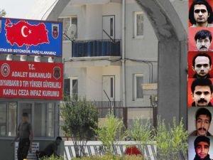 Diyarbakır'da 40 PKK'lı mahkûmun sevki çıkarıldı
