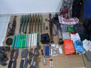 Diyarbakır'da PKK'ye ait mühimmat ele geçirildi