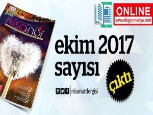 Nisanur Dergisi Ekim 2017 Sayısı Çıktı