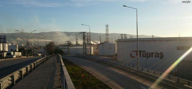 TÜPRAŞ Aliağa Rafinerisinde yaşanan patlamaya dair iddialar
