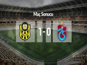 Trabzonspor Malatya'dan eli boş döndü:1-0