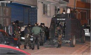 Okmeydanı'ndan terör operasyonu