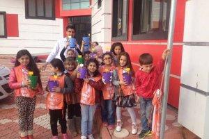Çocuklara hatıra ormanları projesi başlatıldı